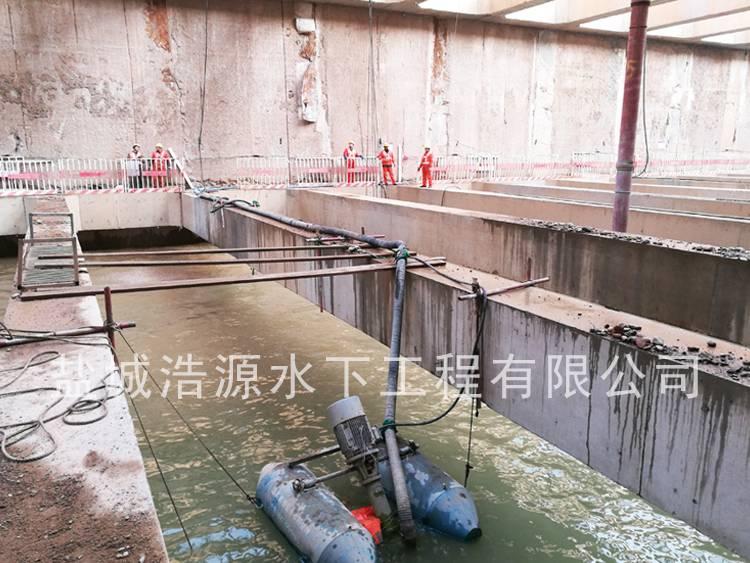 2016北京永定门外地铁站水下施工