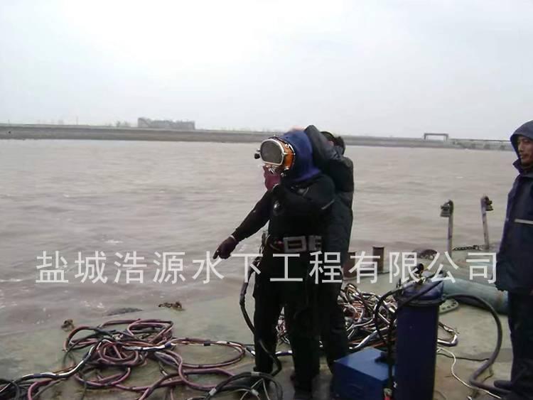 2013绍兴污水厂排水口施工