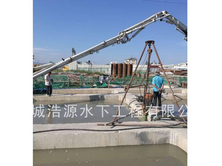 2017温州七都沉井封底