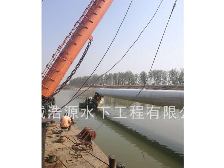2017芜湖漳河水厂管道安装