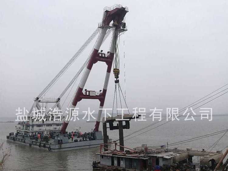 2017无为土桥码头拆除