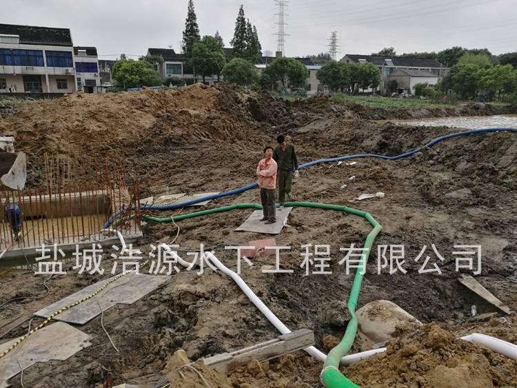 2016江阴夏港沉井施工