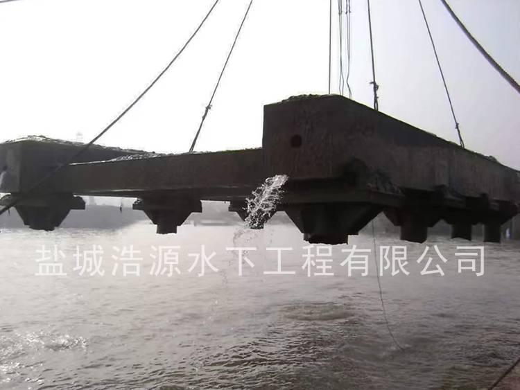2013江阴杨子江船厂老厂滑道梁拆除